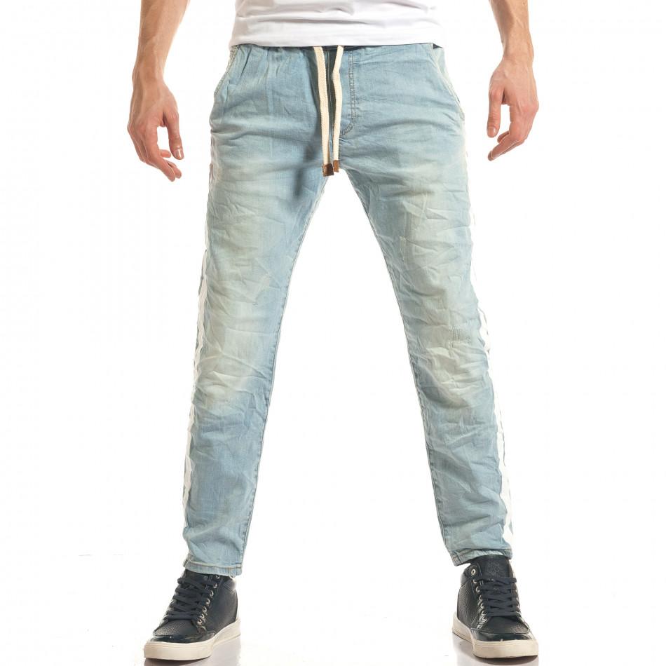 Ανδρικό γαλάζιο τζιν Always Jeans it140317-34