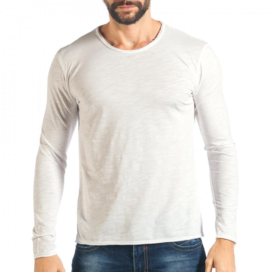 Ανδρική λευκή μπλούζα Y-Two it301017-96