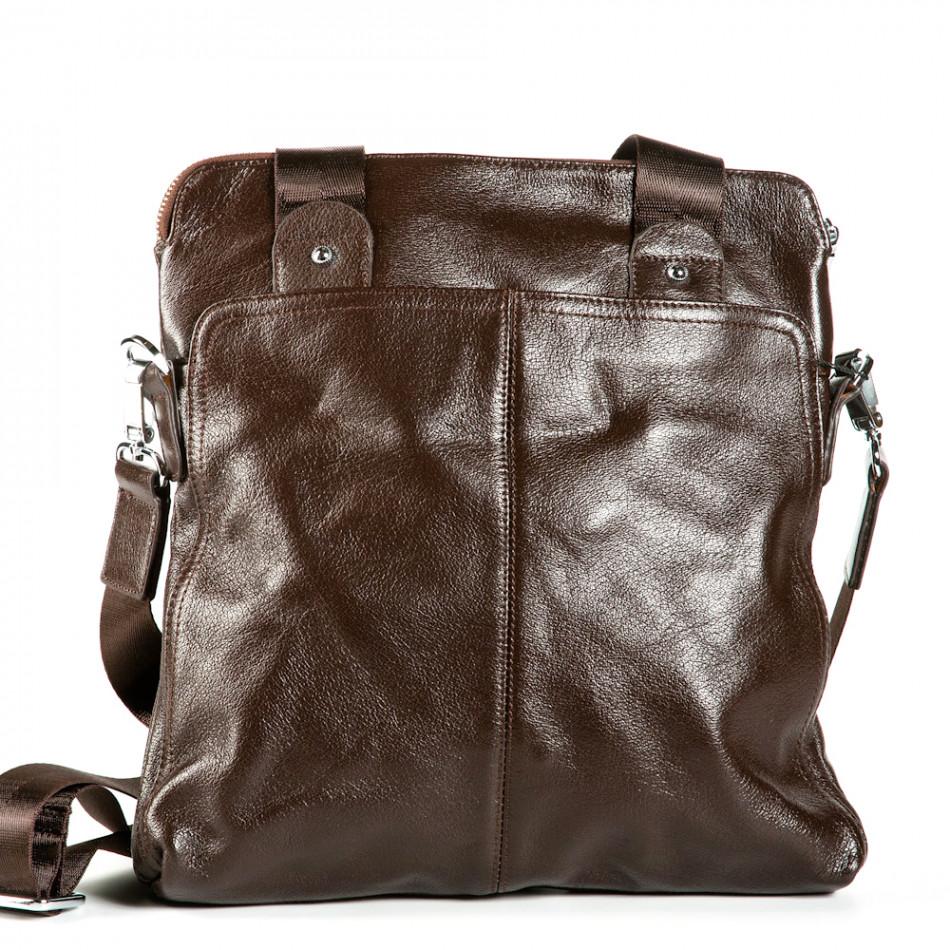 Ανδρικό καφέ τσαντες Fashionmix 1182-brown