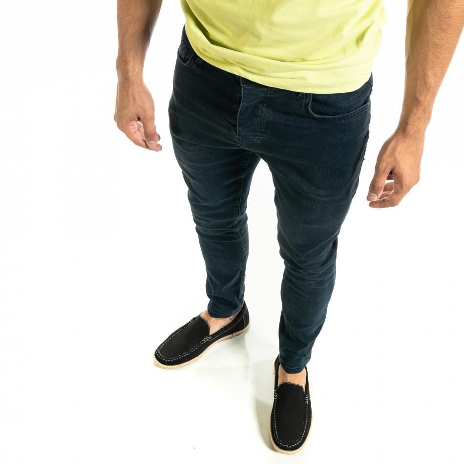 Ανδρικό μπλε τζιν Basic Slim fit tr020920-10