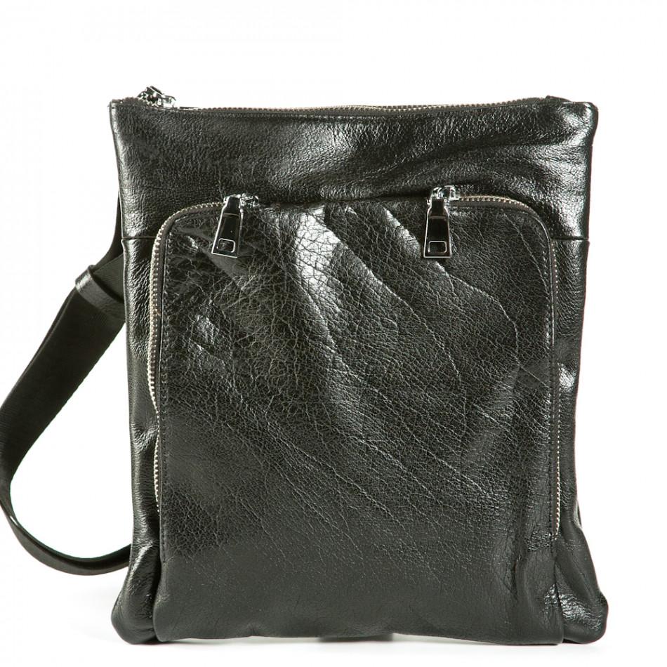 Ανδρικό μαύρο τσαντες Fashionmix 1236-black