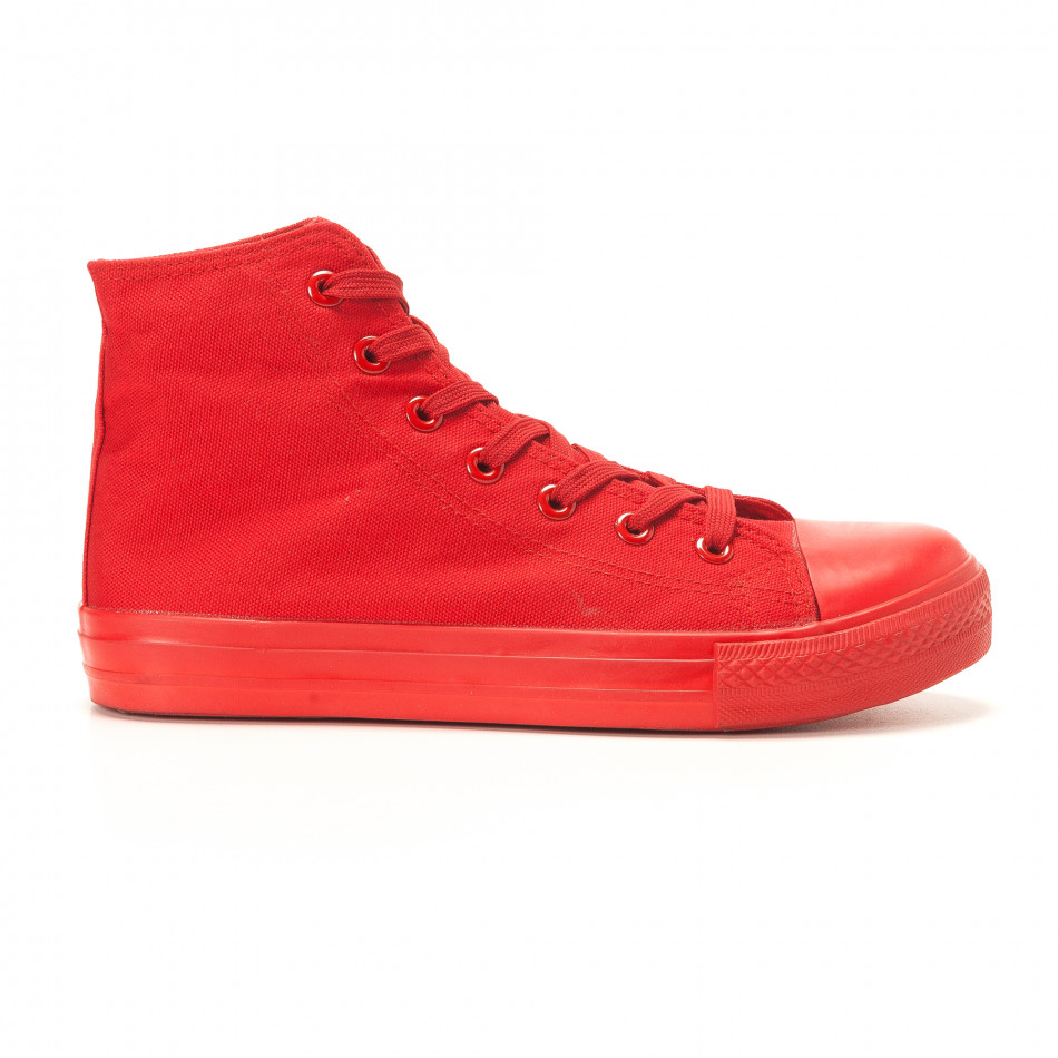 Ανδρικά κόκκινα sneakers Bella Comoda it260117-37