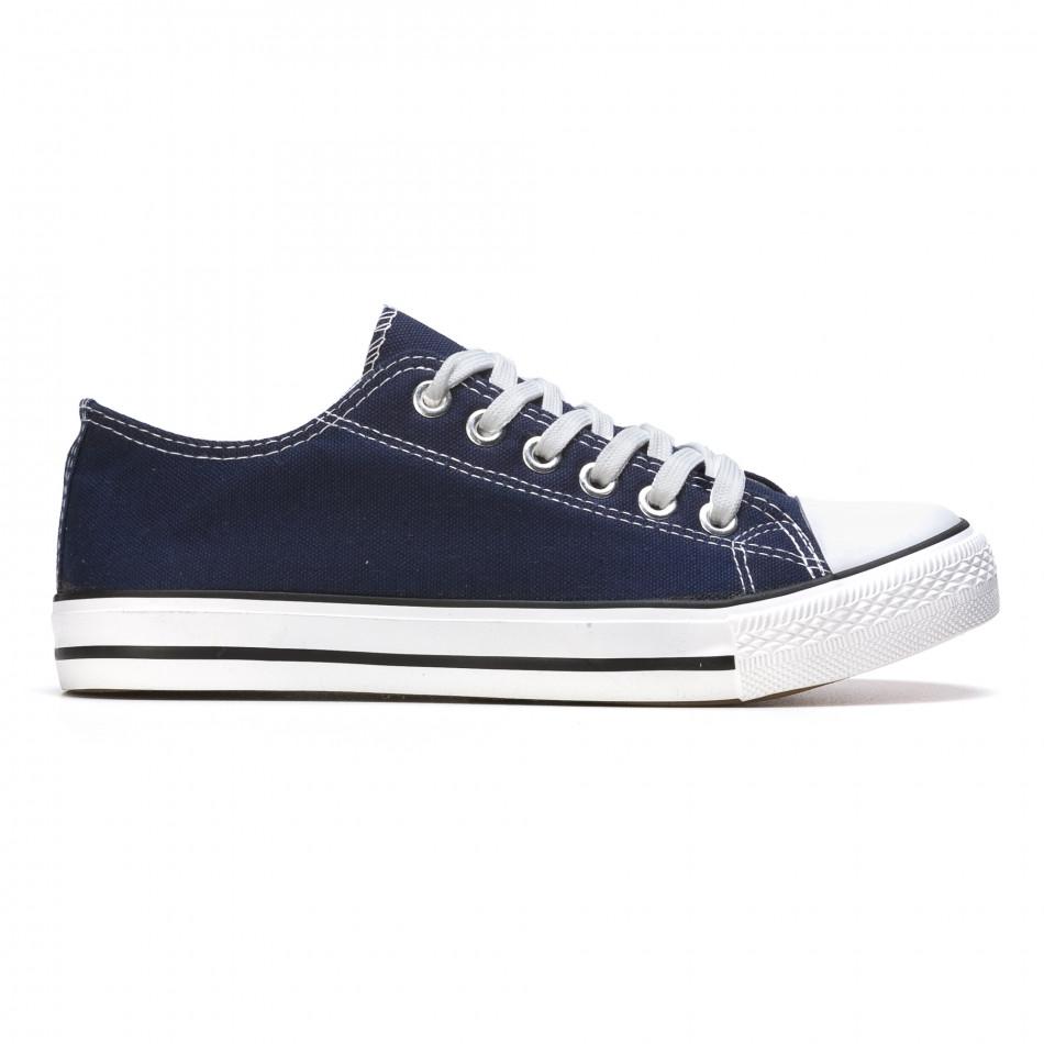 Ανδρικά γαλάζια sneakers Dilen it170315-6