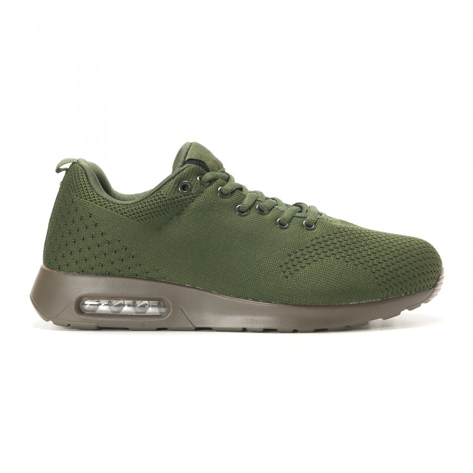 Ανδρικά πράσινα αθλητικά παπούτσια Kiss GoGo it291117-14