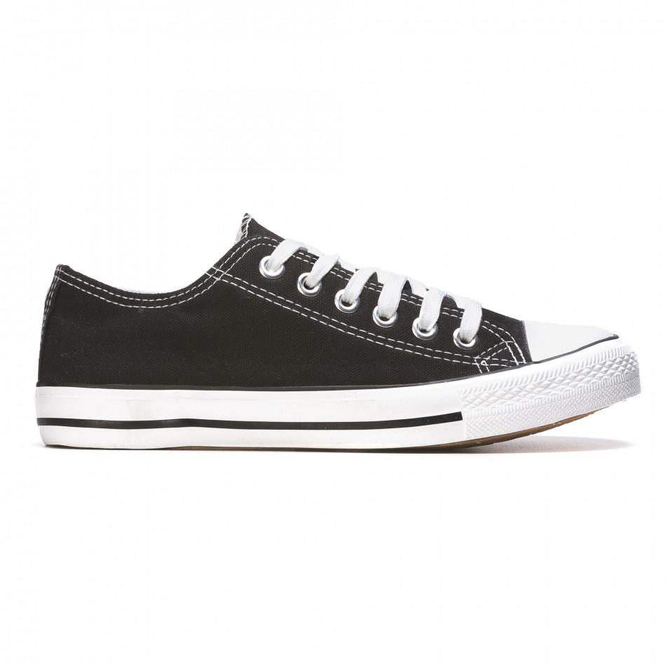 Ανδρικά μαύρα sneakers Dilen It050216-1