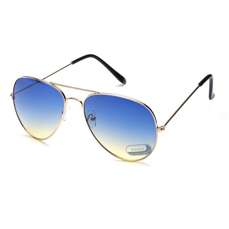 Ανδρικά γαλάζια γυαλιά ηλίου Bright it151015-1