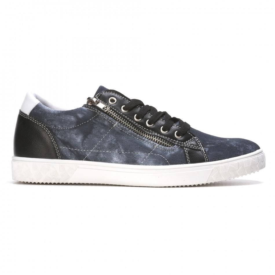 Ανδρικά γαλάζια sneakers Flair It050216-17