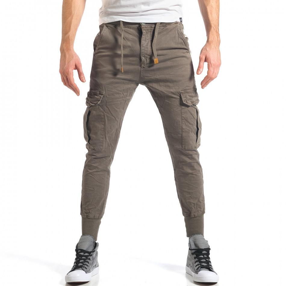 Ανδρικό πράσινο παντελόνι Always Jeans it290118-8