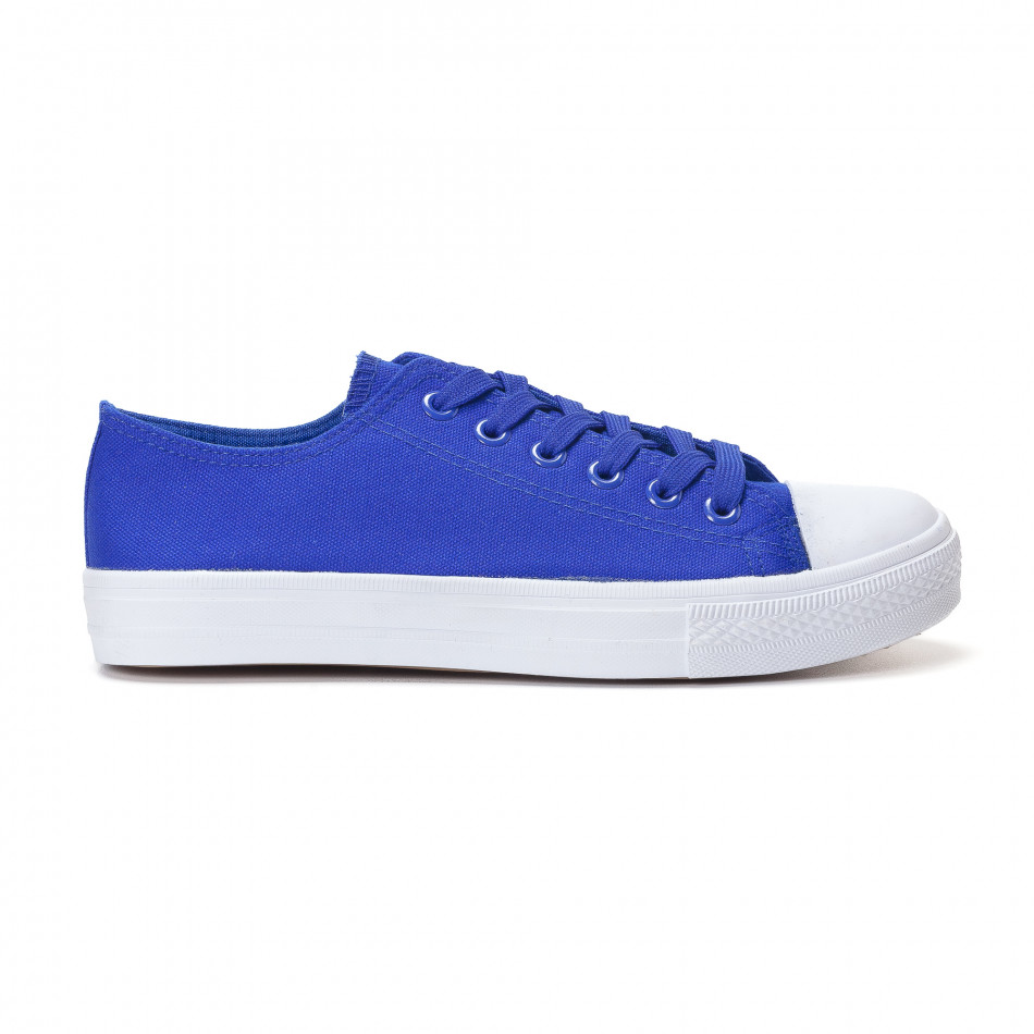 Ανδρικά γαλάζια sneakers Bella Comoda it250118-1
