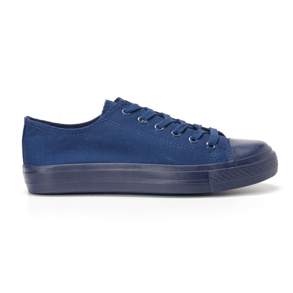 Ανδρικά γαλάζια sneakers Bella Comoda it250118-3