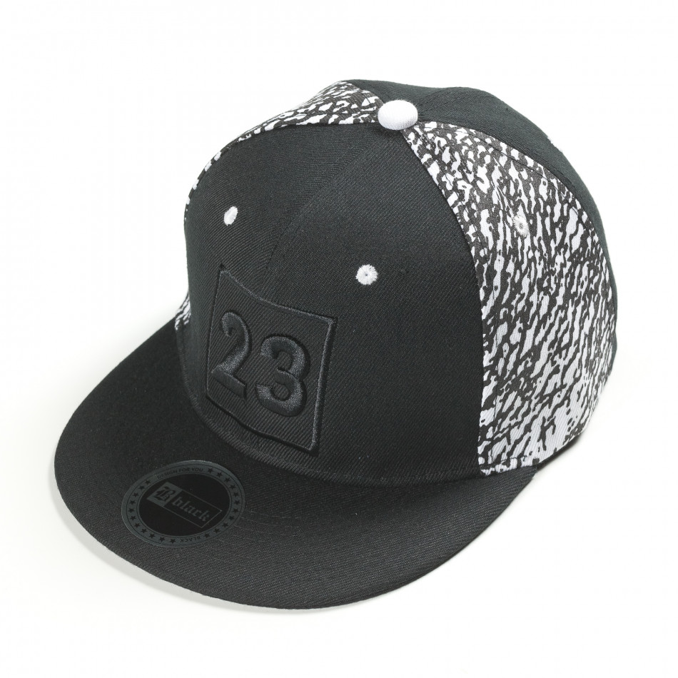 Ανδρικό μαύρο καπέλα FM it300318-5