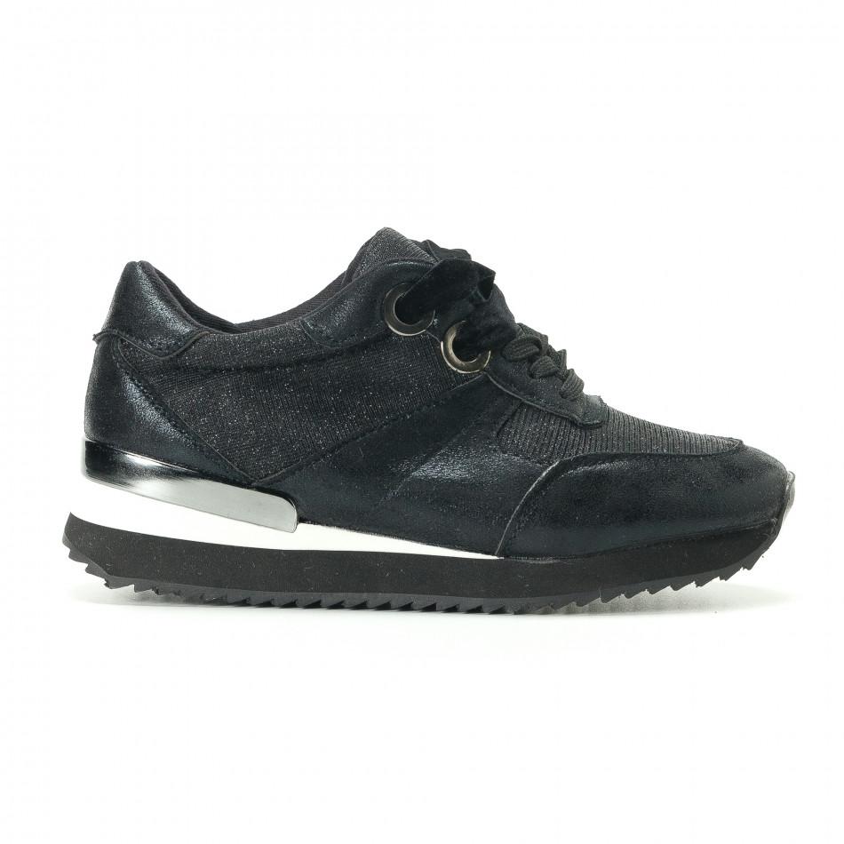 Γυναικεία μαύρα αθλητικά παπούτσια Melissa it200917-24