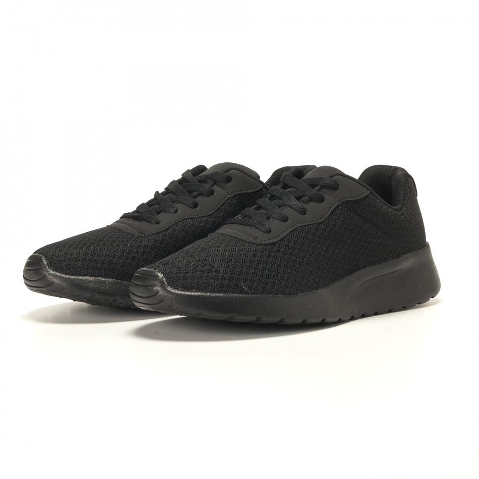 e2da840eb22 Ανδρικά μαύρα αθλητικά παπούτσια Jomix it130417-13 - Fashionmix.gr