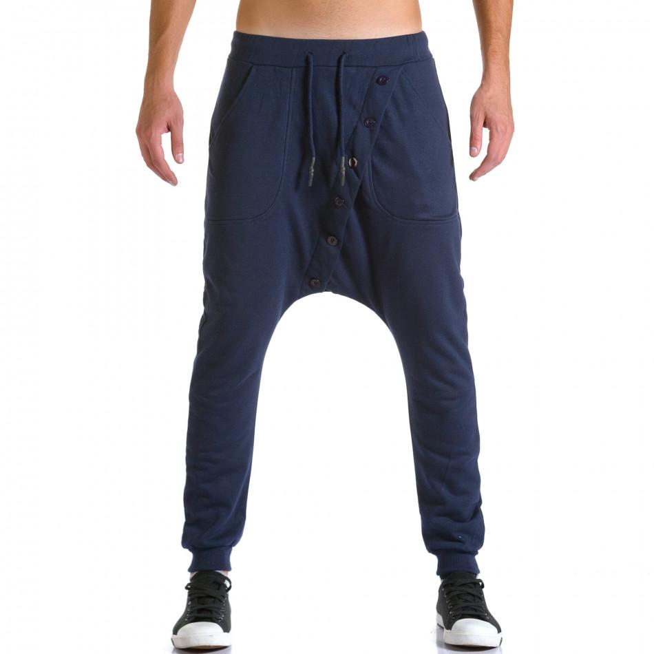 Ανδρικό γαλάζιο παντελόνι jogger Devil Slayer ca260815-24