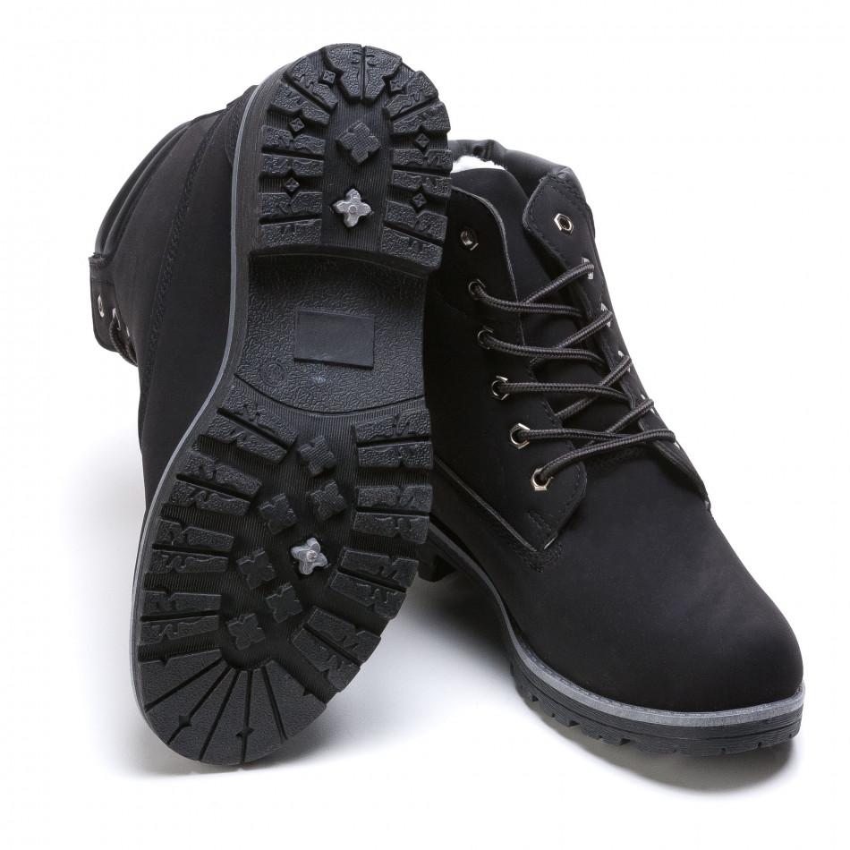 95ed35ad464 Φόρτωση. Ανδρικά μαύρα μποτάκια Leerd it021215-9 2 Ανδρικά μαύρα μποτάκια  Leerd it021215-9 3 Ανδρικά μαύρα μποτάκια Leerd it021215-9 4