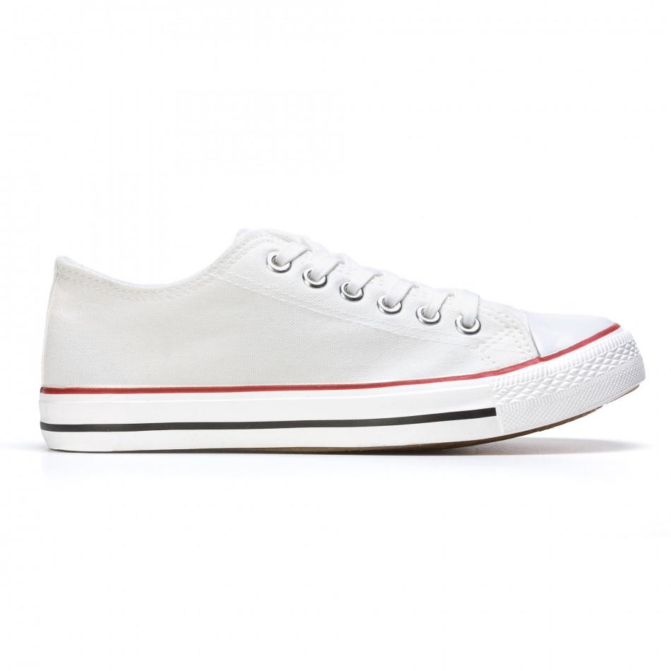 Ανδρικά λευκά sneakers Dilen it170315-13