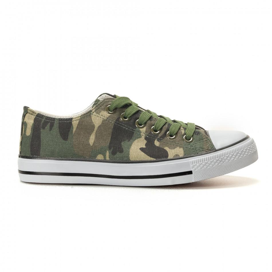 Ανδρικά καμουφλαζ sneakers Osly it260117-34