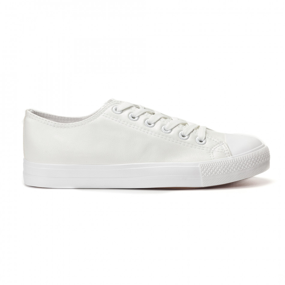 Ανδρικά λευκά sneakers Bella Comoda it250118-4
