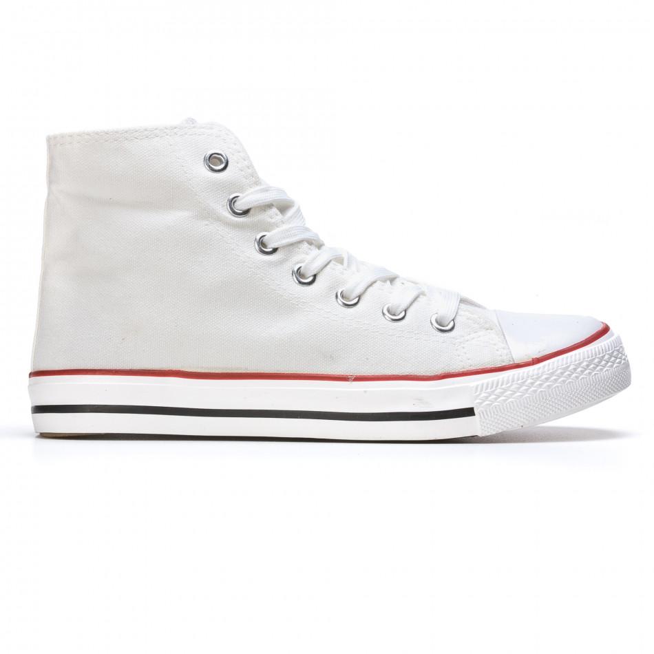 Ανδρικά λευκά sneakers Dilen it170315-9