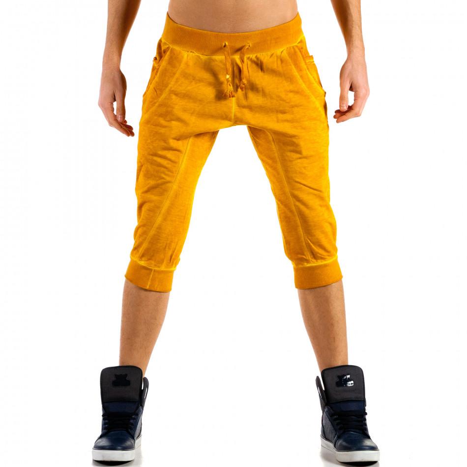 Ανδρικό κίτρινο σορτς Belman ca100514-14