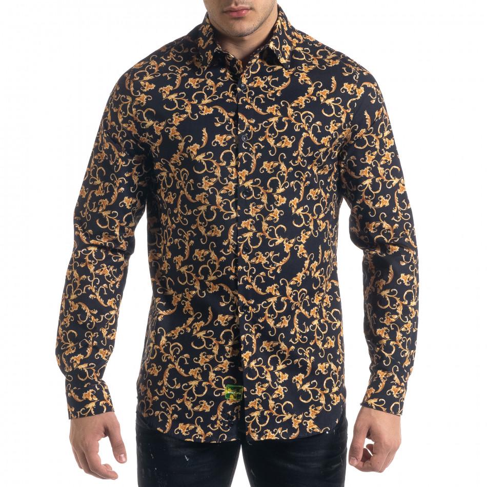 Ανδρικό πολύχρωμο πουκάμισο Open tr110320-96