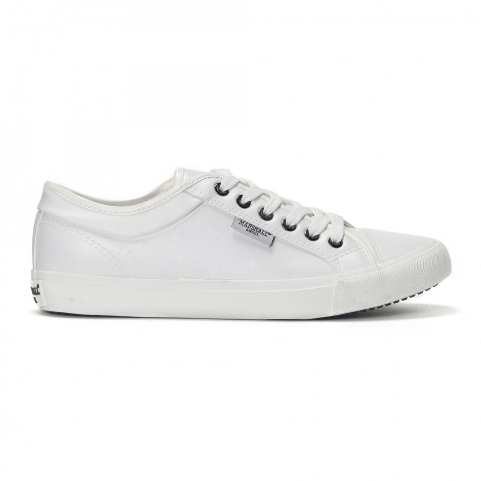 Ανδρικά λευκά basic sneakers  it240418-30