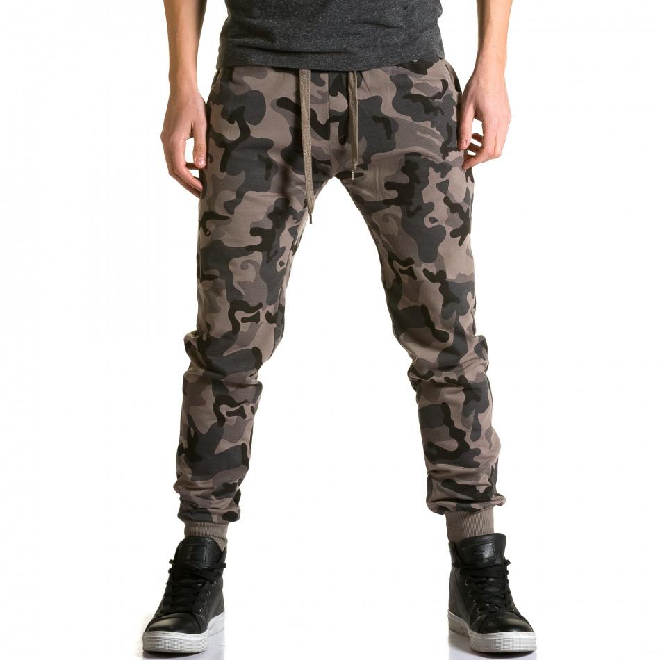 Ανδρικό πράσινο παντελόνι jogger Belmode ca190116-30