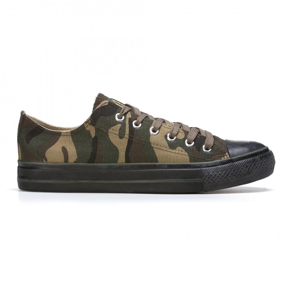 Ανδρικά καμουφλαζ sneakers Mapleaf it210415-23