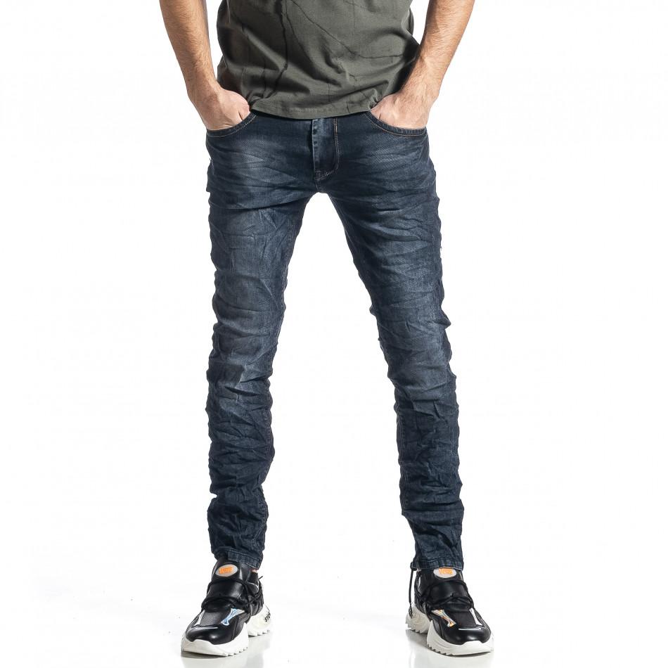 Ανδρικό σκούρο μπλε τζιν Yes!Boy it010221-41