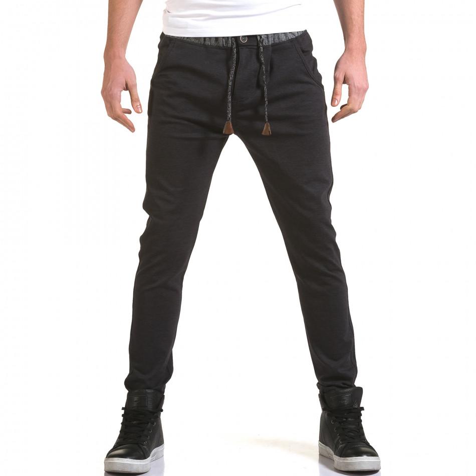 Ανδρικό γαλάζιο παντελόνι Jack Berry it090216-30