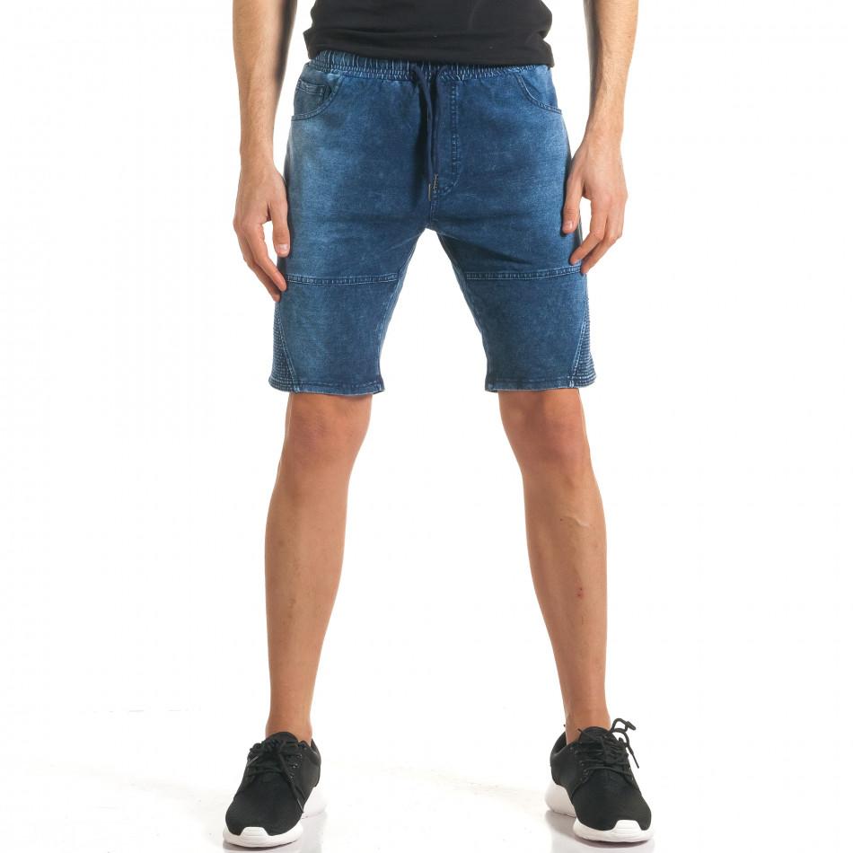 Ανδρικά γαλάζια σορτς  Flex Style it140317-109