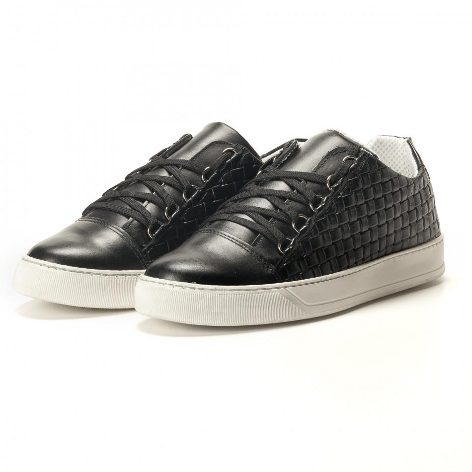 Ανδρικά μαύρα sneakers Shoes in Progress it100317-19 - Fashionmix.gr 11a6d6d1020