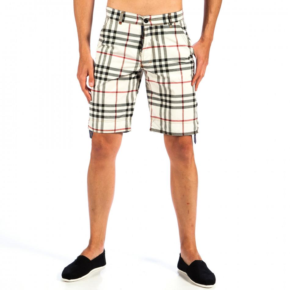 Ανδρικό πολύχρωμο βερμούδα Open Jeans il130613-1