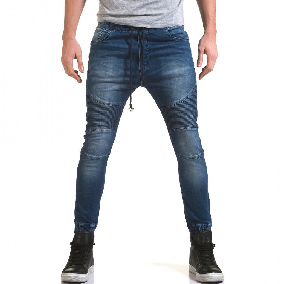 Ανδρικό γαλάζιο τζιν Adrexx it090216-19