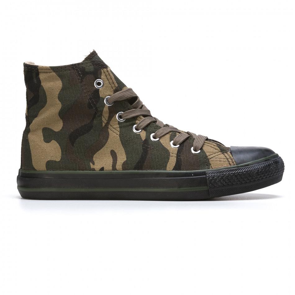 Ανδρικά καμουφλαζ sneakers Mapleaf it210415-22