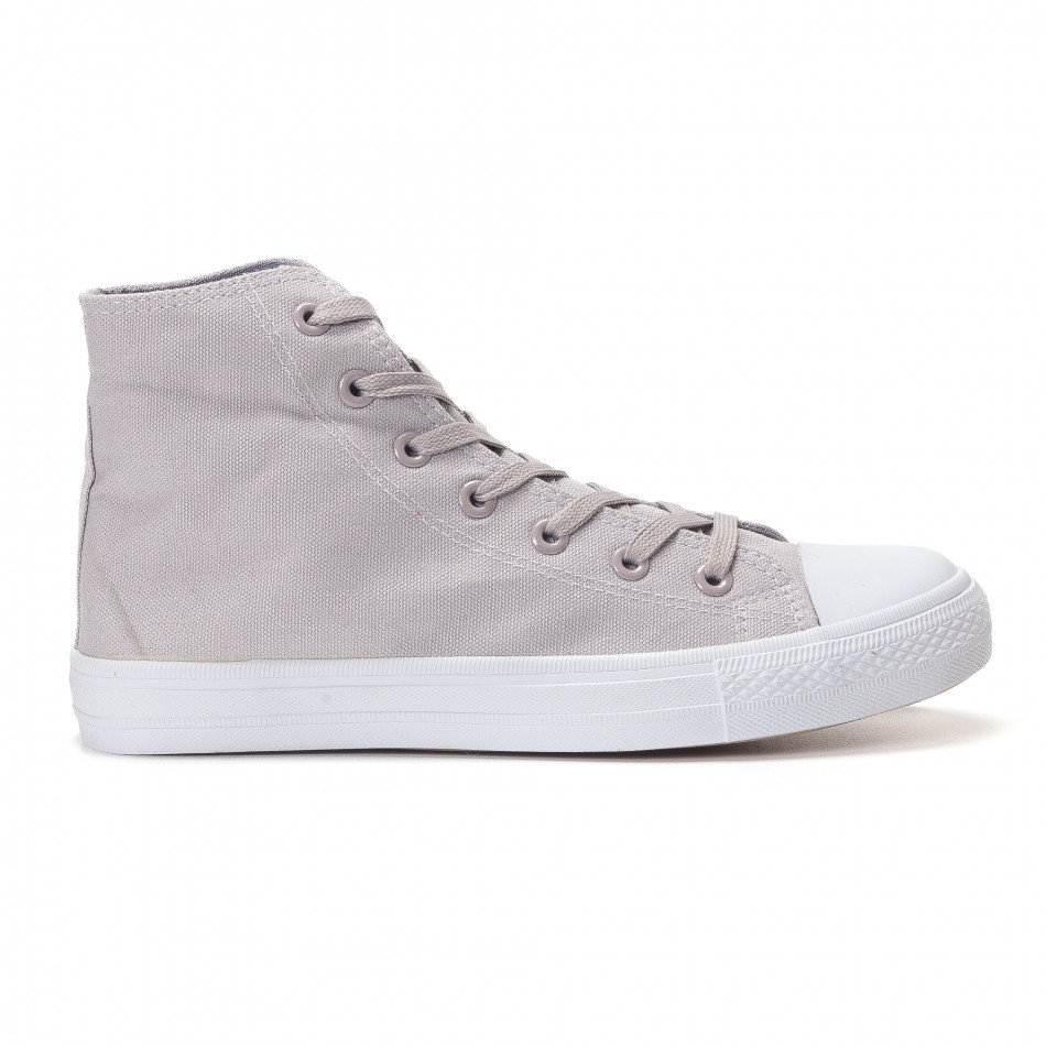 Ανδρικά γκρι sneakers Bella Comoda it250118-6