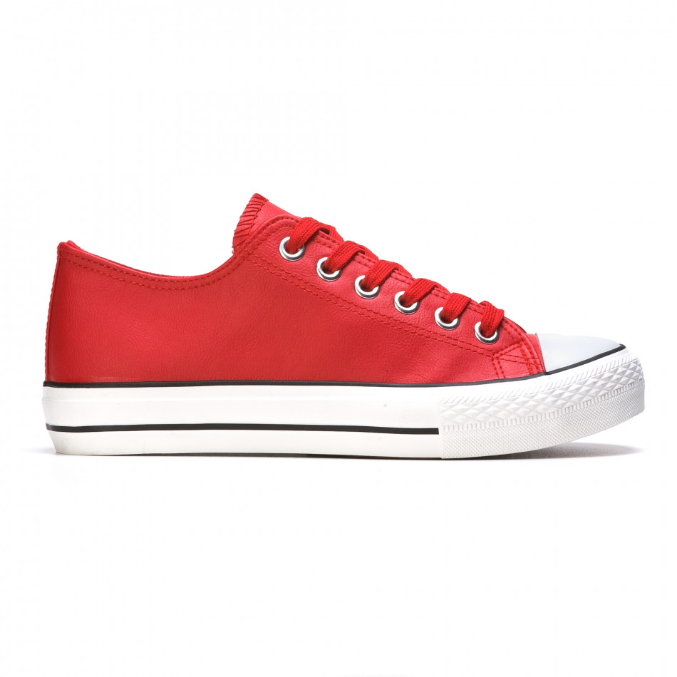 Ανδρικά κόκκινα sneakers Mondo Naturale It050216-13