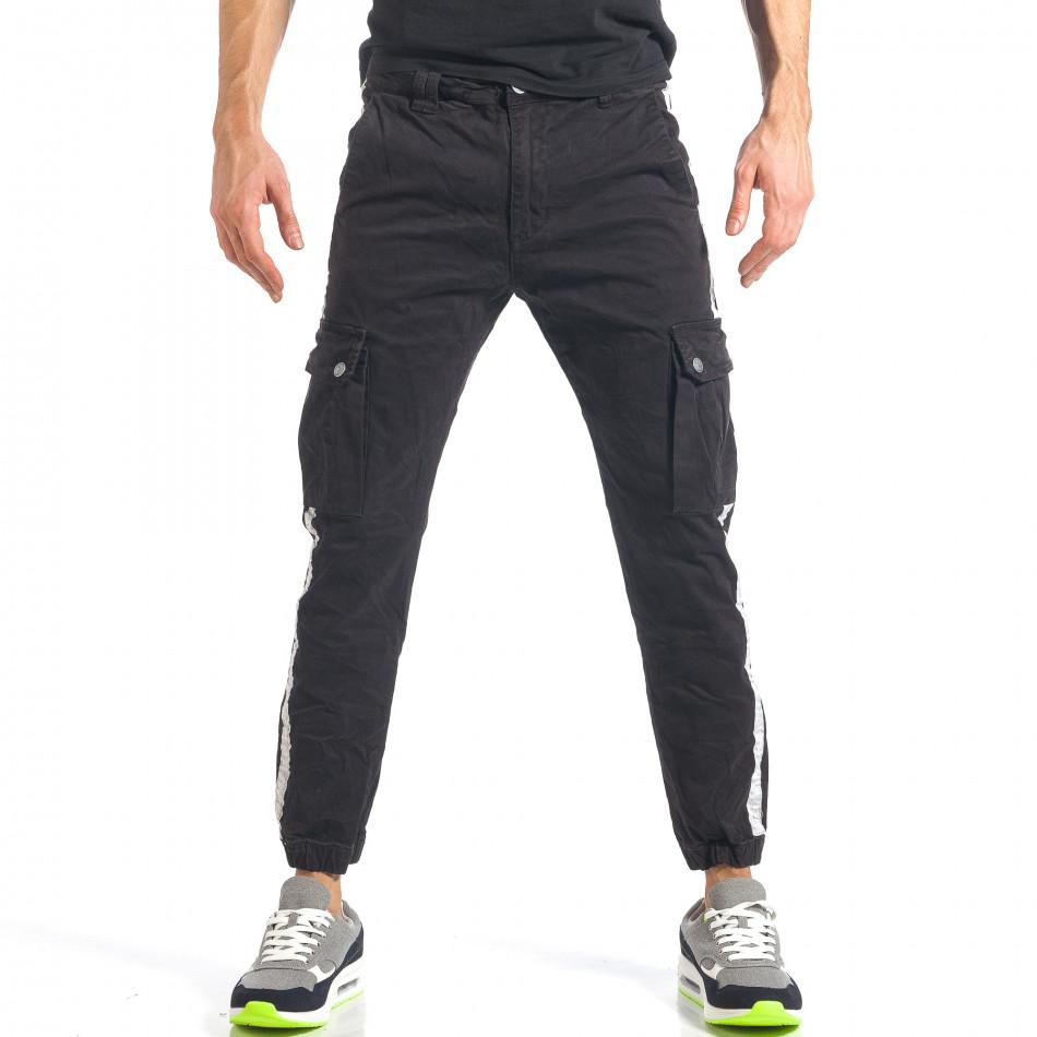 Ανδρικό μαύρο παντελόνι Always Jeans it290118-10