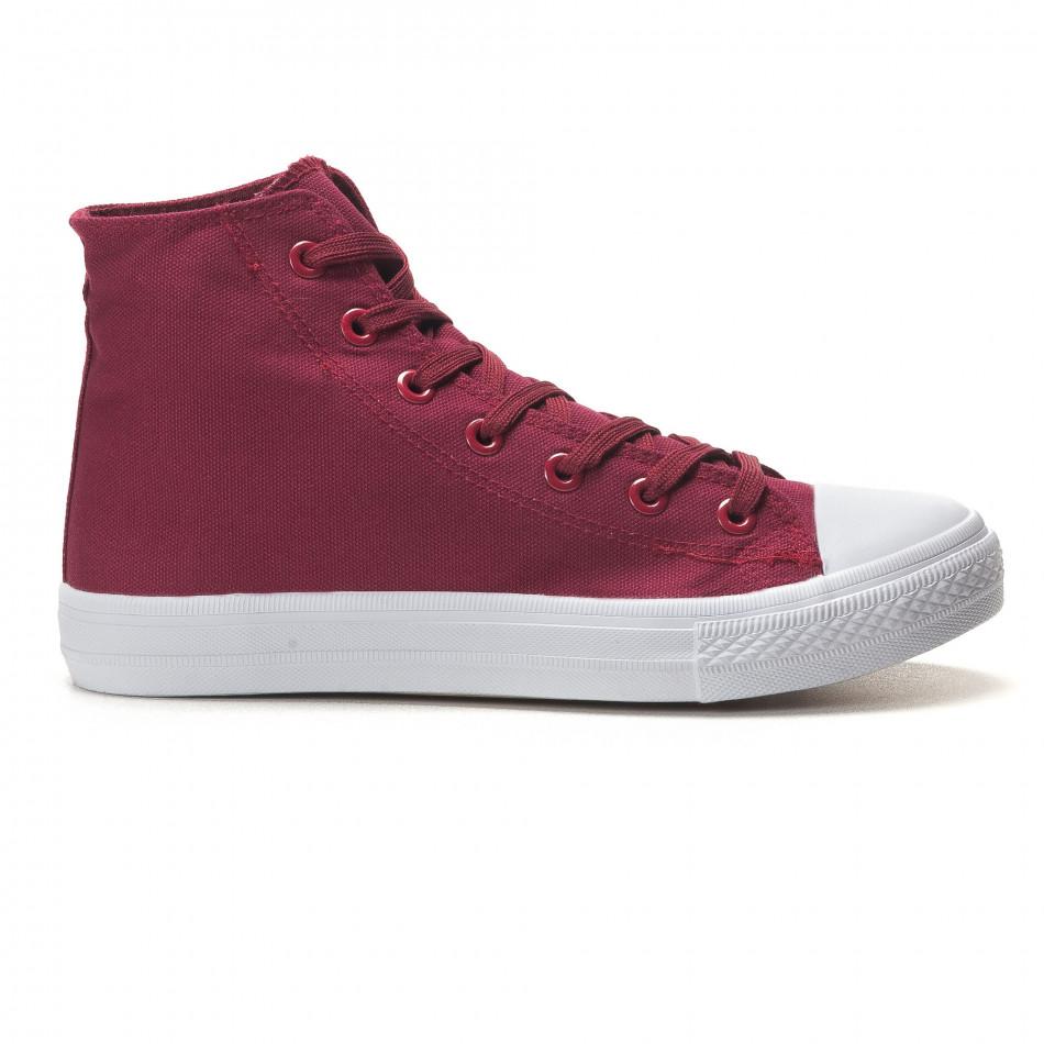 Ανδρικά κόκκινα sneakers Bella Comoda it260117-55