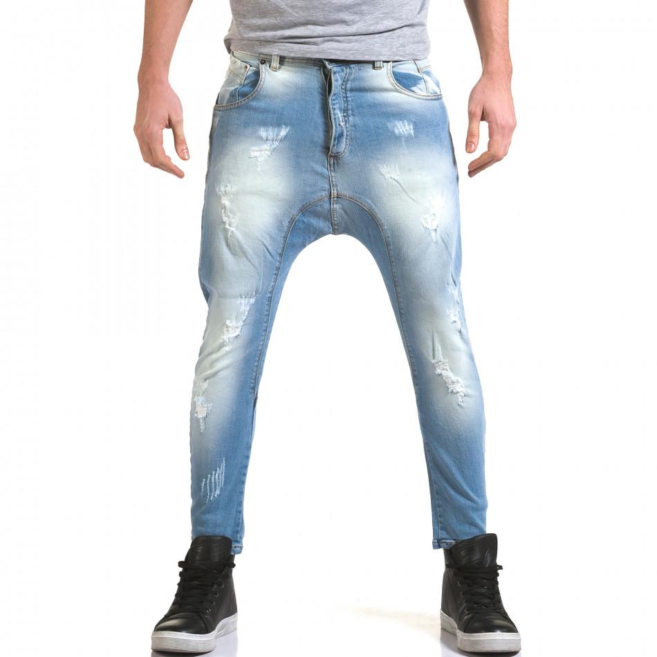 Ανδρικό γαλάζιο τζιν QBR it090216-32