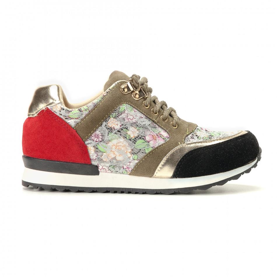 Γυναικεία πολύχρωμα αθλητικά παπούτσια R's it200917-53
