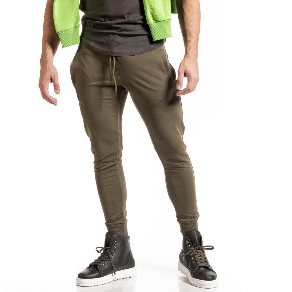 Ανδρική πράσινη φόρμα Breezy it261120-5