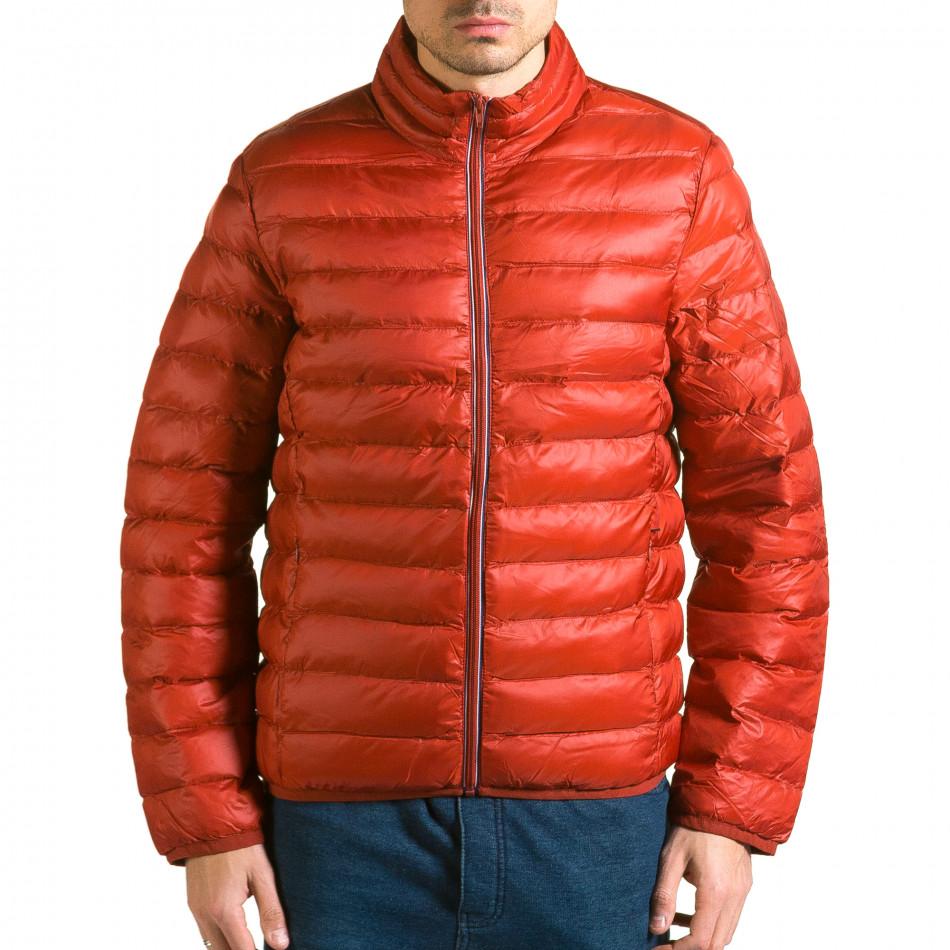 Ανδρικό κόκκινο χειμωνιάτικο μπουφάν Y-Two it110915-4