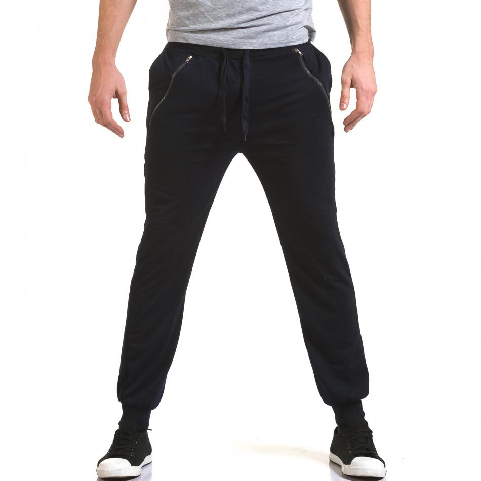 Ανδρικό γαλάζιο παντελόνι jogger Eadae Wear it090216-54