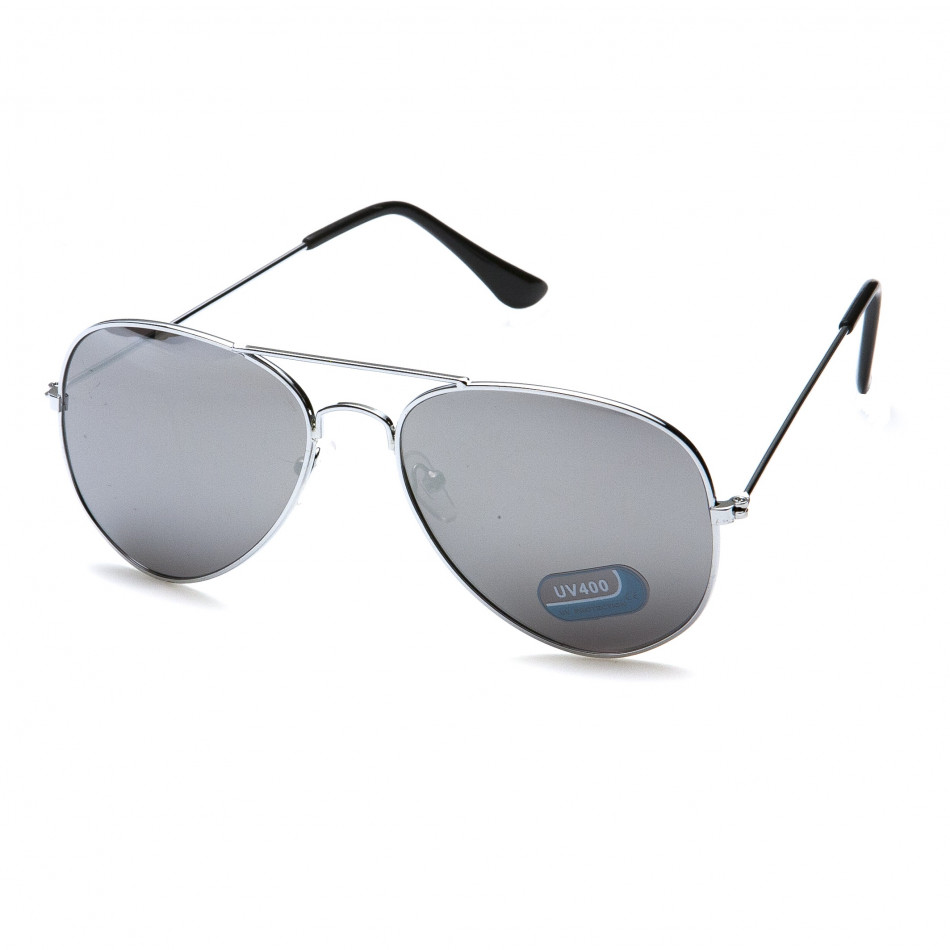 Ανδρικά γκρι γυαλιά ηλίου Bright it151015-3