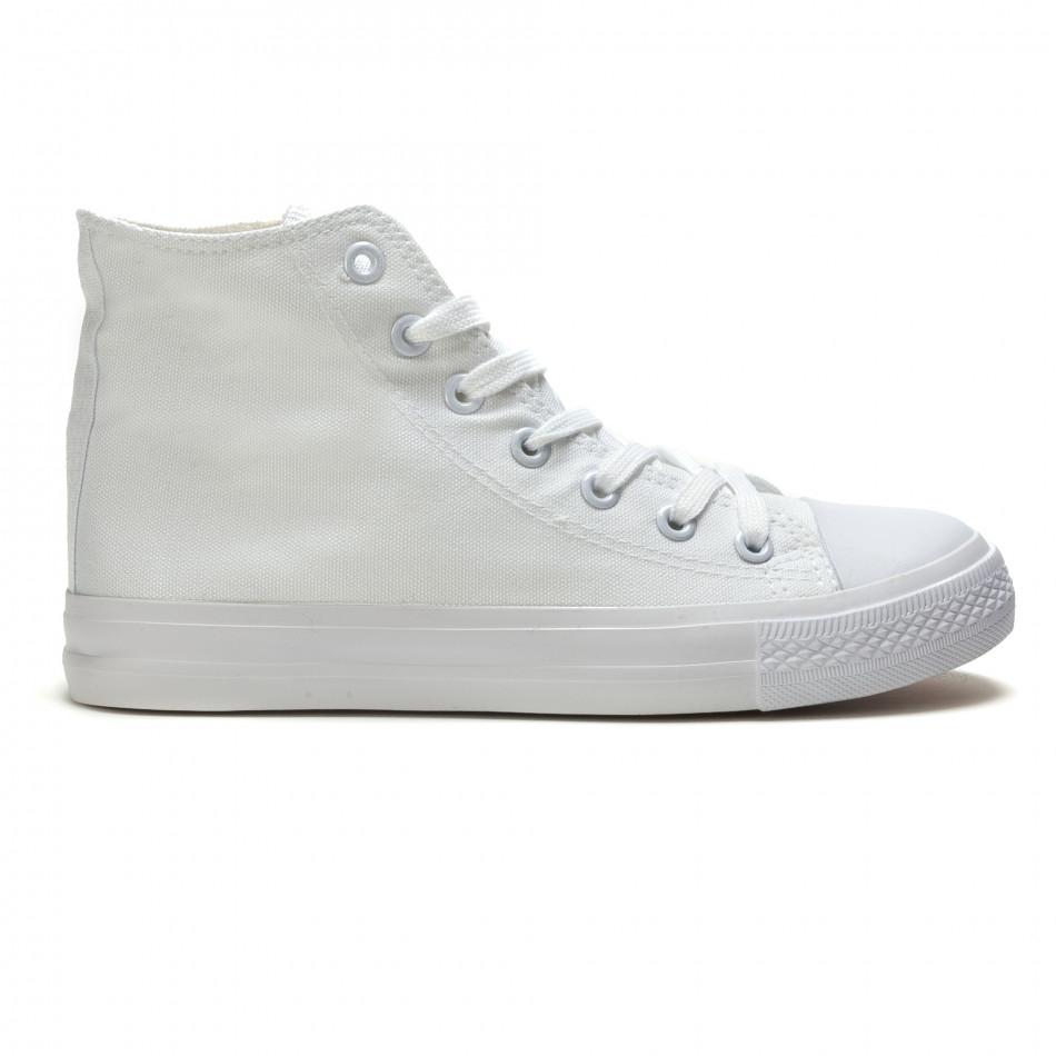 Ανδρικά λευκά sneakers Bella Comoda it260117-35