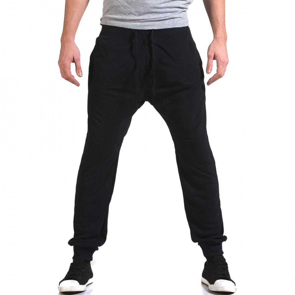 Ανδρικό γαλάζιο παντελόνι jogger Dress&GO it090216-40