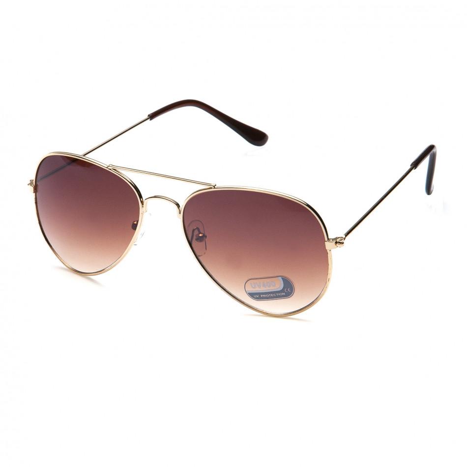 Ανδρικά καφέ γυαλιά ηλίου Bright it151015-7