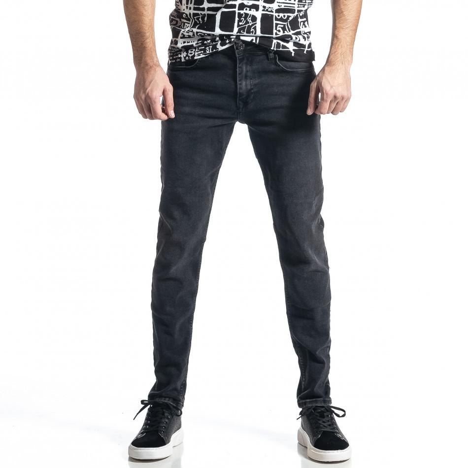 Ανδρικό μαύρο Long Slim tr010221-29