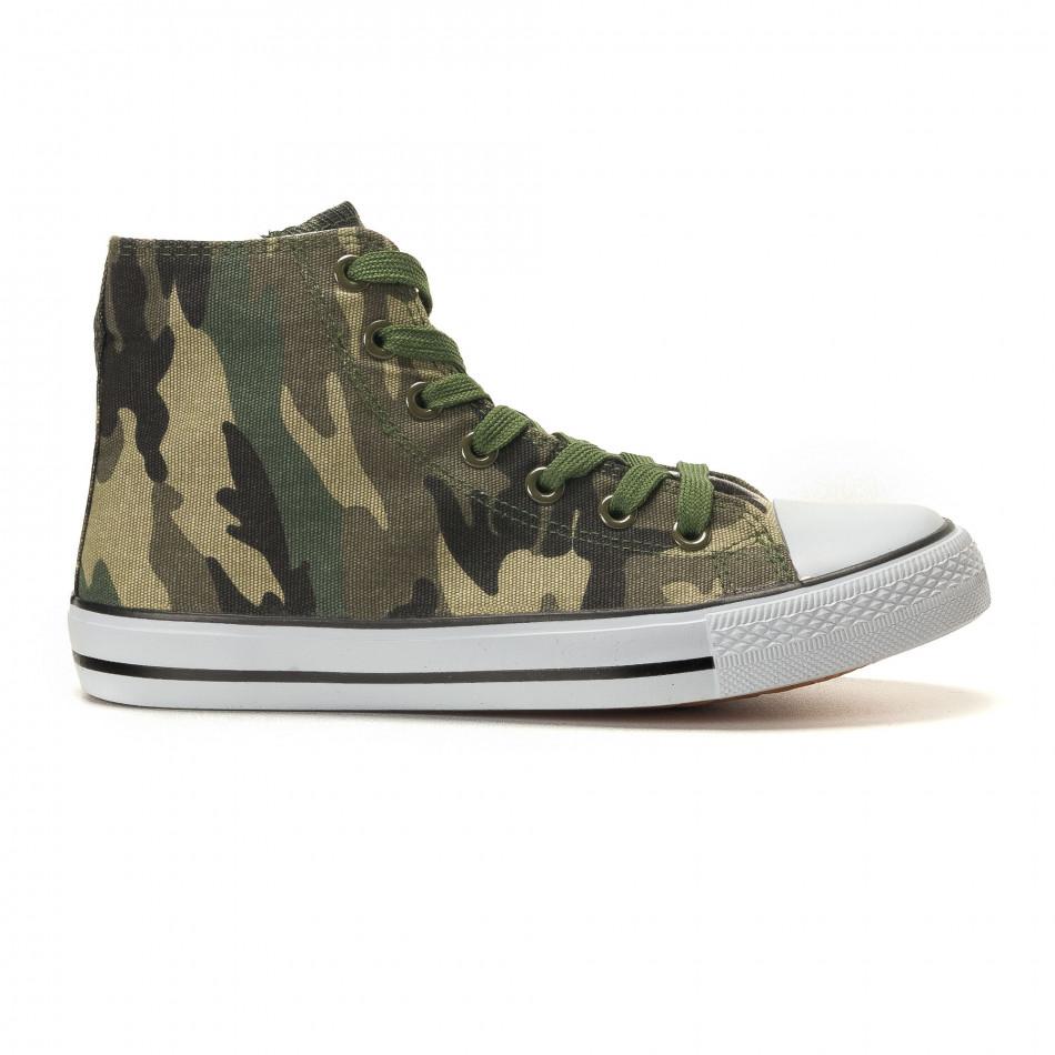 Ανδρικά καμουφλαζ sneakers Osly it260117-31